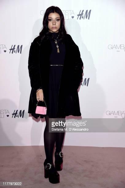 Lavinia Fuksas attends the 'Giambattista Valli Loves HM' Show on October 24 2019 in Rome Italy