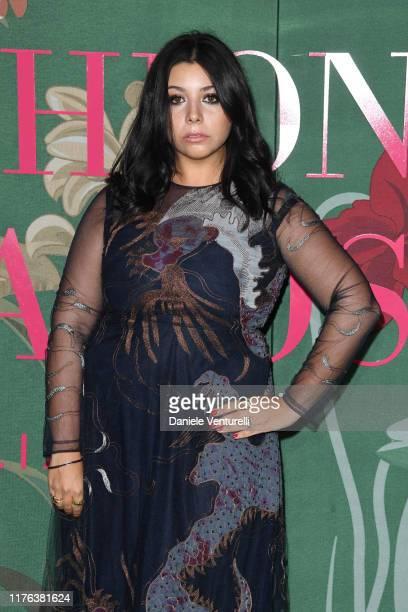 Lavinia Fuksas attends the Green Carpet Fashion Awards during the Milan Fashion Week Spring/Summer 2020 on September 22 2019 in Milan Italy