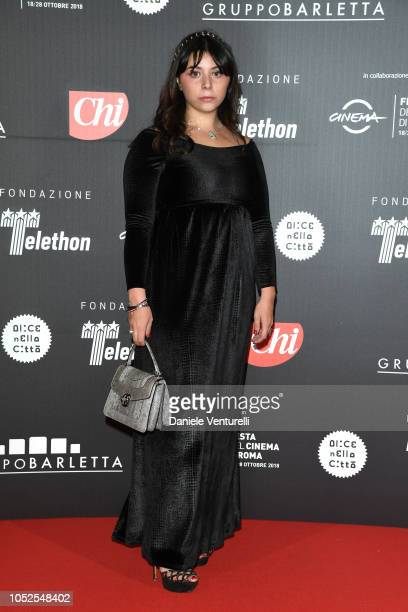 Lavinia Fuksas attends the Telethon Gala during the 13th Rome Film Fest at Villa Miani on October 19 2018 in Rome Italy