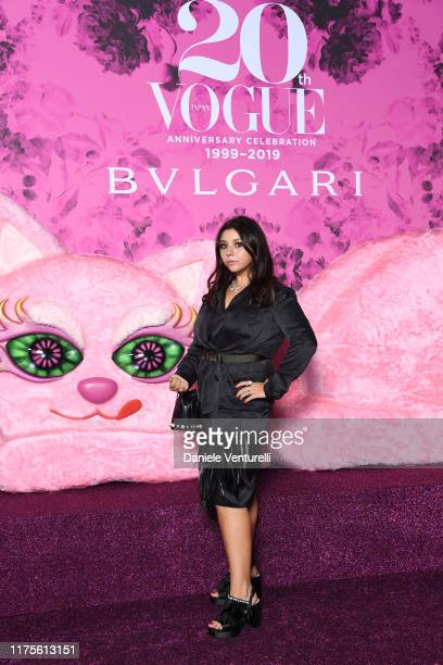 Lavinia Fuksas attends the Vogue Japan 20th Anniversary Party on September 18 2019 in Milan Italy