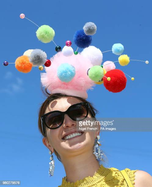 Lavinia Lewis during day three of Royal Ascot at Ascot Racecourse.