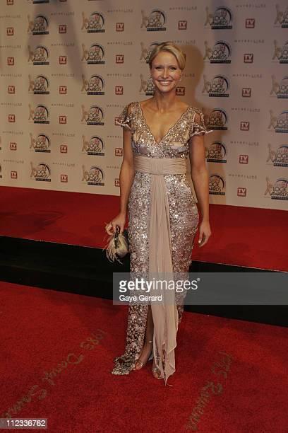 Lavinia Nixon during 2006 TV Week Logie Awards Arrivals at Crown Casino in Melbourne VIC Australia
