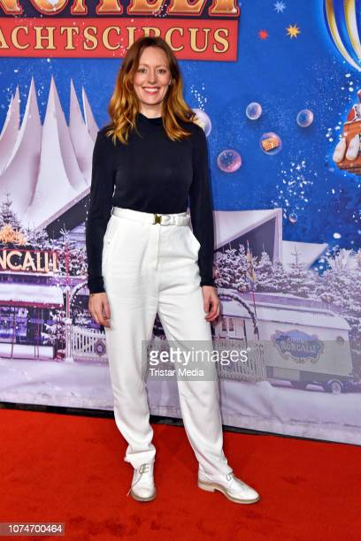 Lavinia Wilson attends the 15th Roncalli christmas circus premiere at Tempodrom on December 22 2018 in Berlin Germany