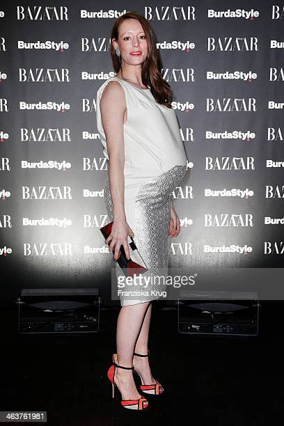 Lavinia Wilson attends the Burda Style Cocktail on January 16 2014 in Berlin Germany