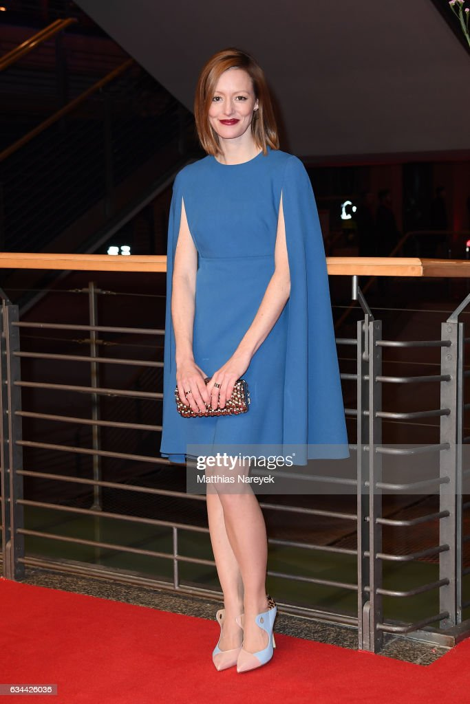 Lavinia Wilson attends the 'Django' premiere during the 67th Berlinale International Film Festival Berlin at Berlinale Palace on February 9, 2017 in Berlin, Germany.