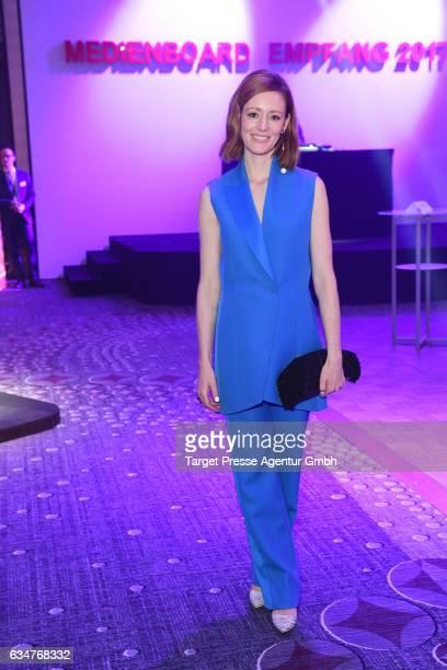 Lavinia Wilson attends the Medienboard BerlinBrandenburg Reception during the 67th Berlinale International Film Festival Berlin at on February 11...