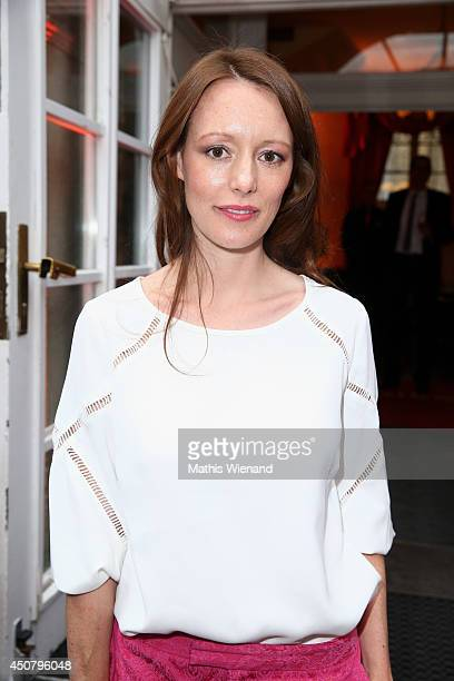 Lavinia Wilson attends the NRW Filmparty at Wolkenburg on June 17 2014 in Cologne Germany