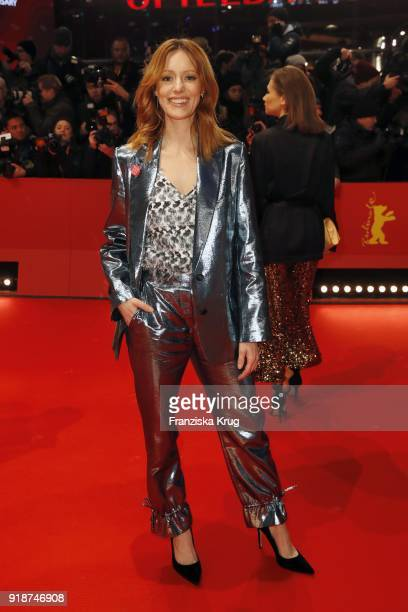 Lavinia Wilson attends the Opening Ceremony 'Isle of Dogs' premiere during the 68th Berlinale International Film Festival Berlin at Berlinale Palace...