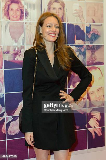 Lavinia Wilson attends the premiere for the film 'Familienfest' at Filmtheater am Friedrichshain on October 13 2015 in Berlin Germany