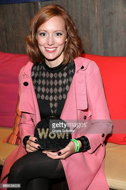 Lavinia Wilson during the after party of the premiere for the film 'Maennertag' at Mathaeser Filmpalast on September 5 2016 in Munich Germany