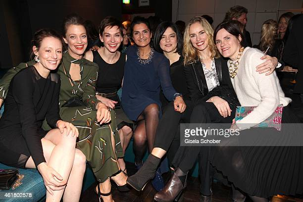 Lavinia Wilson, Heike Makatsch,Christiane Paul, Designer Leyla Piedayesh, Jasmin Tabatabai, Nina Hoss, Fritzi Haberlandt attend the LaLa Berlin...