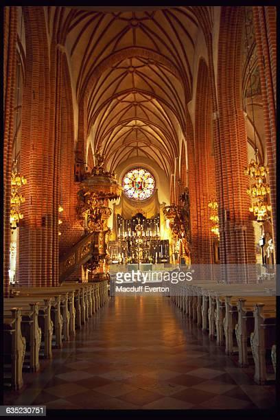 Lavish Interior of Stockholm Cathedral