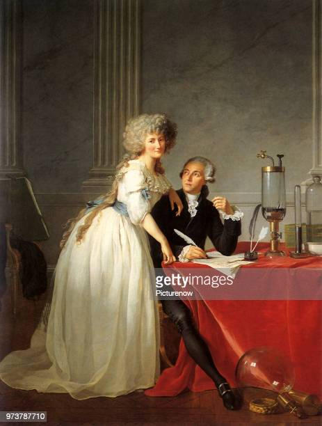 Lavoisier and Wife 1788 David JacquesLouis 1788