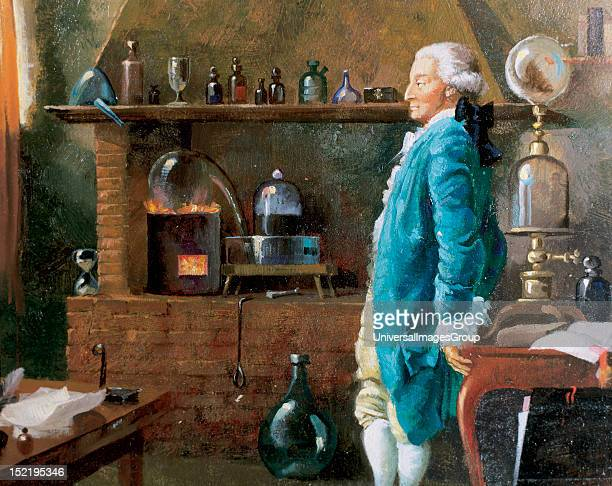 Lavoisier Antoine Laurent French chemist Established the composition of the water and the basis of bioenergetics