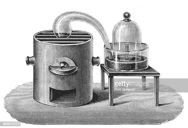 Lavoisier's investigation of the existence of oxygen in the air late 18th century French chemist Antoine Lavoisier's experiment to demonstrate the...