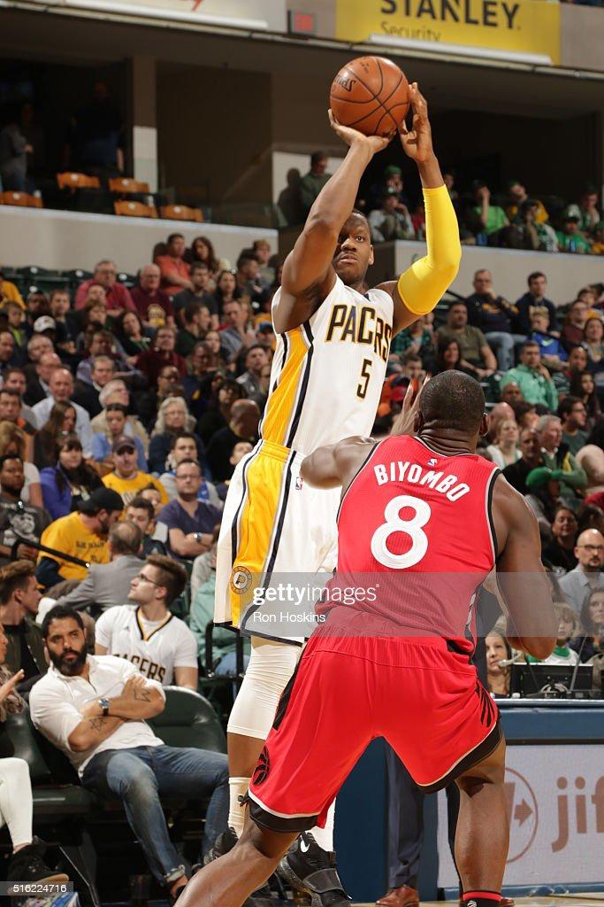 Toronto Raptors v Indiana Pacers : News Photo