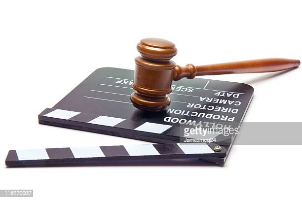 law & hollywood - sue clapper stock photos and pictures