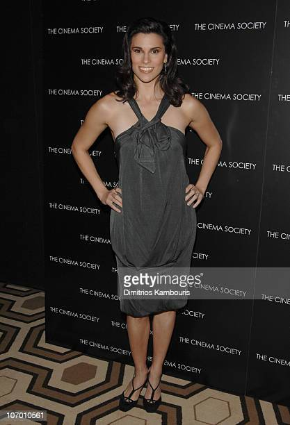Law and Order's Milena Govich during The Cinema Society and David Yurman Present a Special Screening of Gentlemen Prefer Blondes Arrivals at Tribeca...