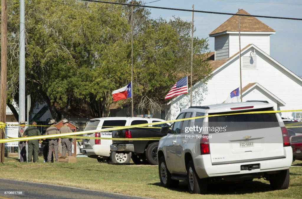 At Least 20 People Killed 24 Injured After Mass Shooting At Texas Church : News Photo