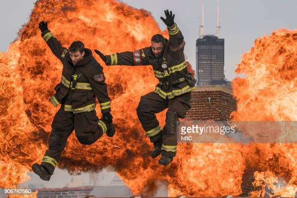 FIRE 'Law of the Jungle' Episode 611 Pictured Jesse Spencer as Matthew Casey Taylor Kinney as Kelly Severide
