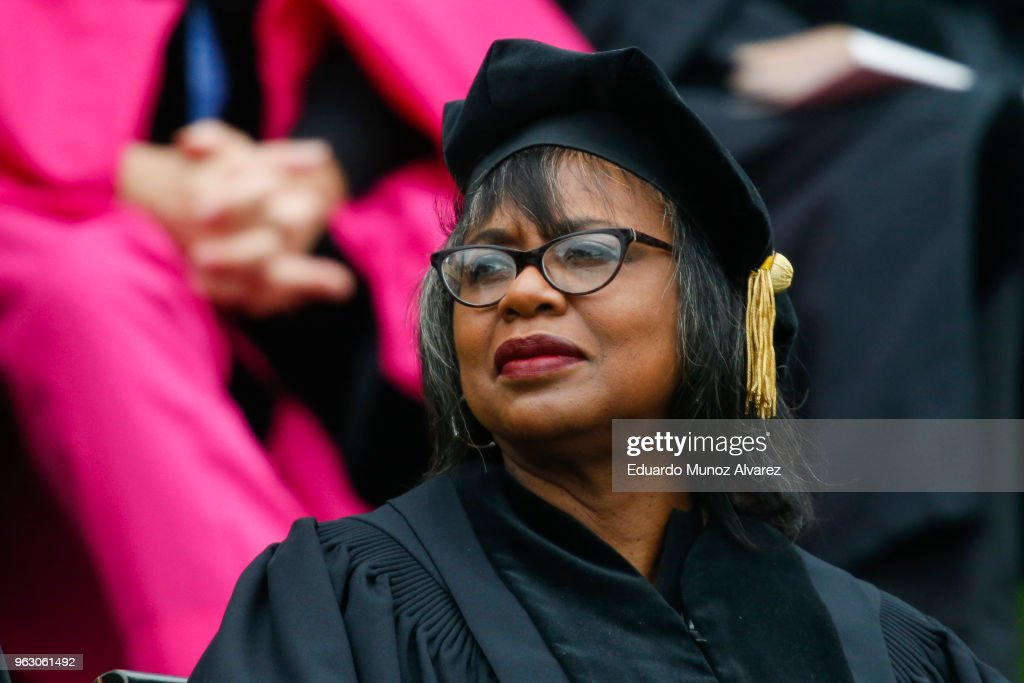 Law Professor Anita Hill Addresses Wesleyan Commencement Ceremony