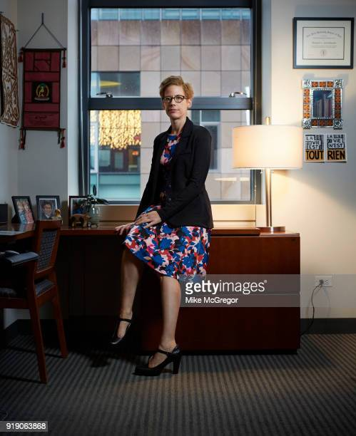 Law Professor at NYU Meg Satterthwaite is photographed for Psychology Today on August 29 2017 in New York City PUBLISHED IMAGE