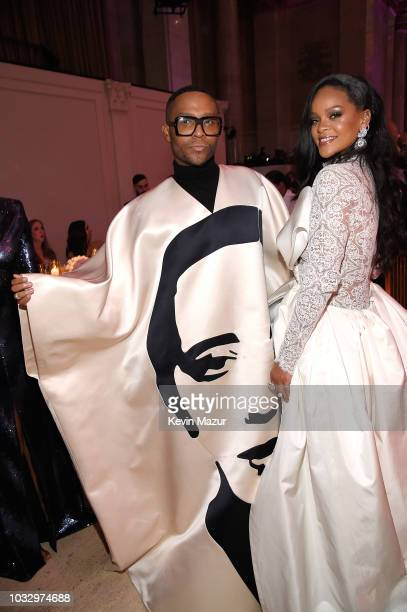 Law Roach and Rihanna attend Rihanna's 4th Annual Diamond Ball benefitting The Clara Lionel Foundation at Cipriani Wall Street on September 13 2018...