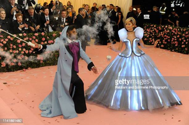 Law Roach and Zendaya attend The 2019 Met Gala Celebrating Camp Notes On Fashion Arrivalsat The Metropolitan Museum of Art on May 6 2019 in New York...