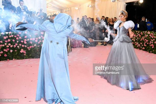 Law Roach and Zendaya attend The 2019 Met Gala Celebrating Camp Notes on Fashion at Metropolitan Museum of Art on May 06 2019 in New York City