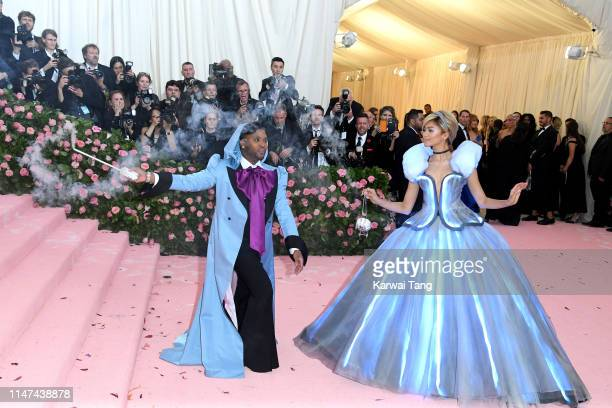 Law Roach and Zendaya attend The 2019 Met Gala Celebrating Camp: Notes On Fashion at The Metropolitan Museum of Art on May 06, 2019 in New York City.