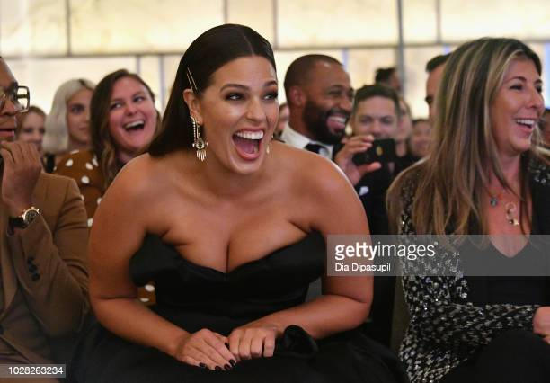 Law Roach Ashley Graham and Nina Garcia attend the Daily Front Row's Fashion Media Awards presented by ZadigVoltaire Sunglass Hut Moroccan Oil LIM...