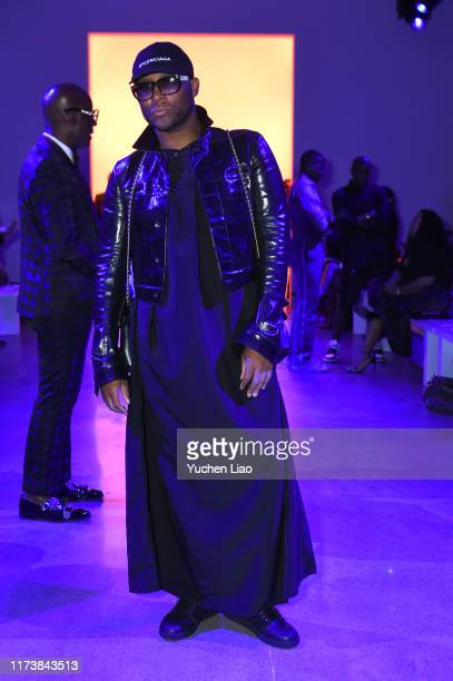 Law Roach attends Aliette fashion show during New York Fashion Week The Shows at Gallery II at Spring Studios on September 11 2019 in New York City
