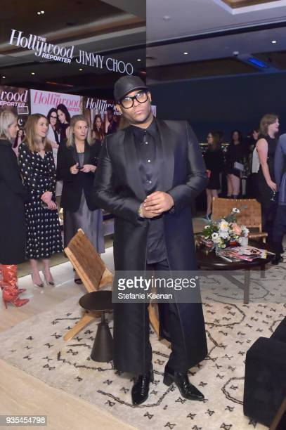 Law Roach attends The Hollywood Reporter and Jimmy Choo Power Stylists Dinner on March 20 2018 in Los Angeles California