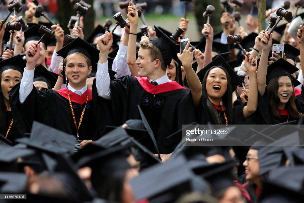 2019 Harvard University Commencement : News Photo