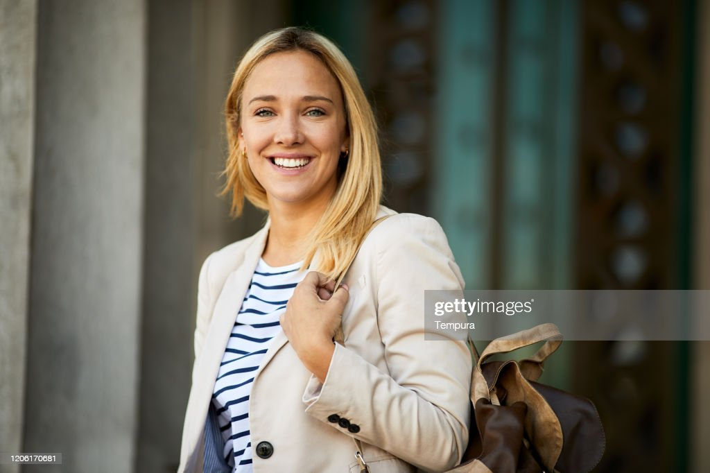 Law university student looking at camera portrait. : Stock Photo
