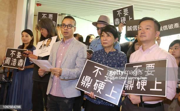 Lawmakers Lau Siulai and Leung Kwokhung Brian Leung Siufai Pressure and LGBT groups singer Anthony Wong Yiuming Lawmakers Claudia Mo Manching and...