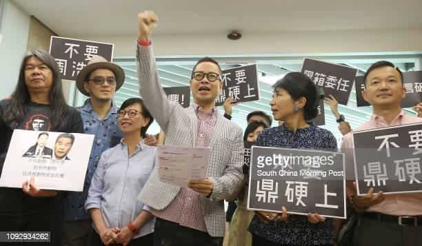 Lawmakers Leung Kwokhung singer Anthony Wong Yiuming Cyd Ho Saulan Brian Leung Siufai Pressure and LGBT groups Lawmakers Claudia Mo Manching and...