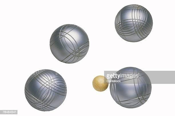 Lawn bowling equipment