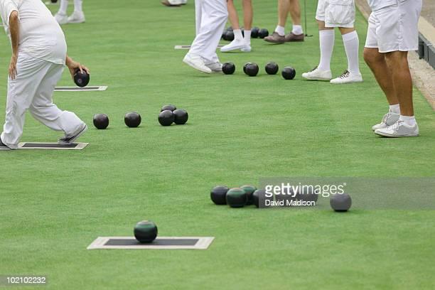 Lawn bowling tournament.