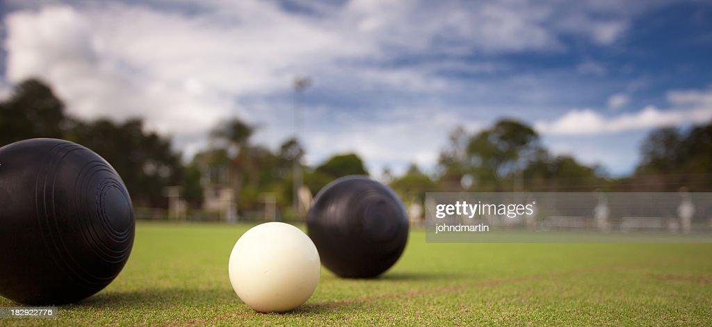 Lawn Bowls : Stock Photo