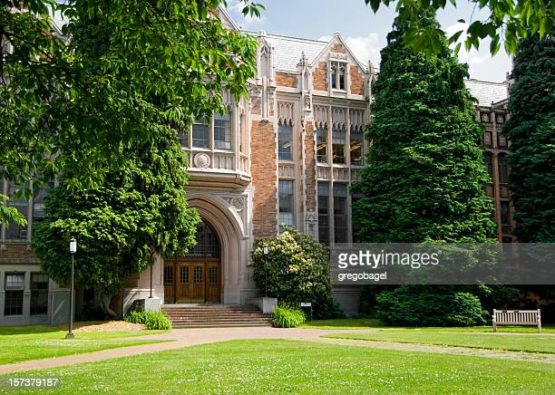 lawn by smith - university of washington stock pictures, royalty-free photos & images