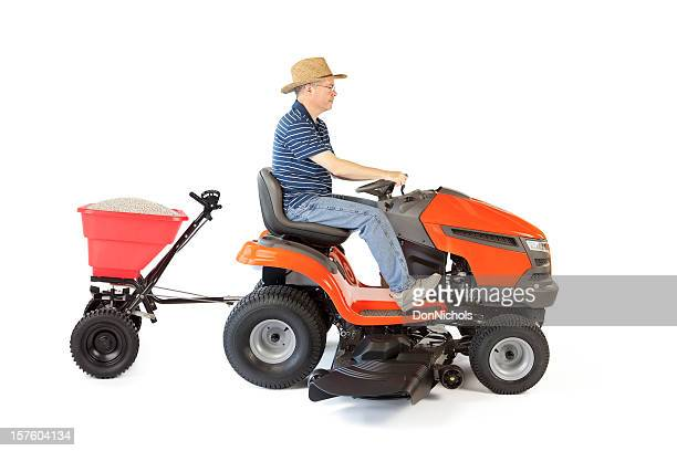Lawn Mower and Fertilizer