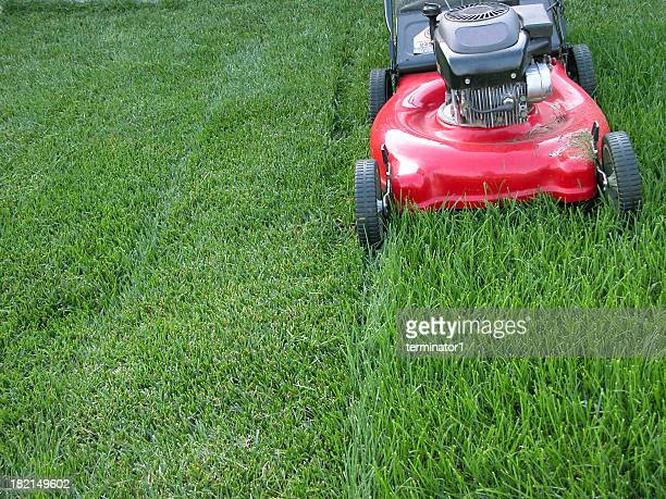 Lawn Mower - Red