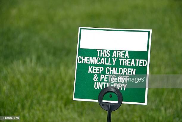 Lawn Sign for Fertilizer