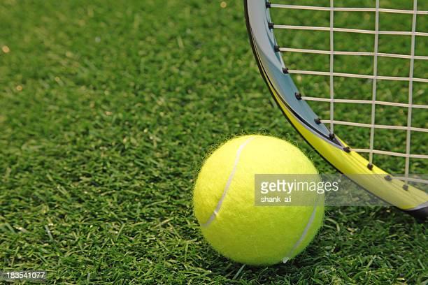 lawn tennis -concept