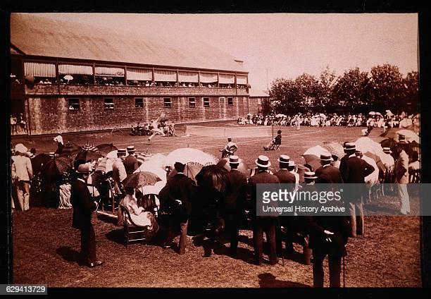 Lawn Tennis Tournament Newport Casino Newport Rhode Island USA 1890