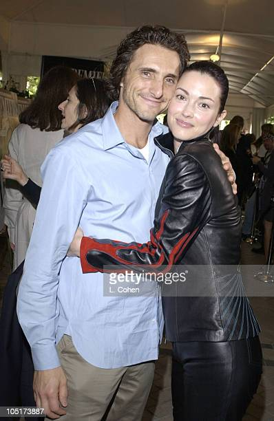 Lawrence Bender and Julie Dreyfus during 10th Annual Premiere Women In Hollywood Luncheon at Four Seasons Hotel in Los Angeles California United...