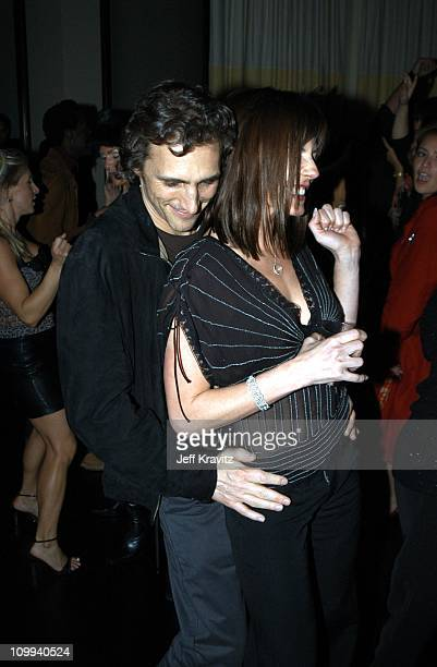 Lawrence Bender and Krista Allen during Confessions of a Dangerous Mind After Party at The W Hotel in Westwood CA United States