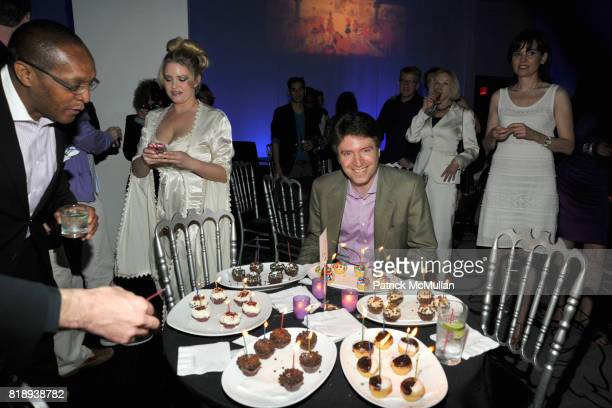 Lawrence Benenson attends PATTI SMITH Live in Concert A Benefit for The American Folk Art Museum at Espace on May 15 2010 in New York City