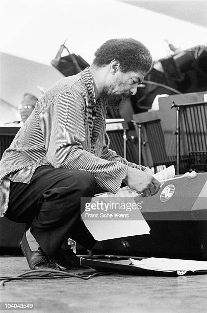 Lawrence 'Butch' Morris consults sheet music before going on at The North Sea Jazz Festival on July 16 1995 in The Hague, Netherlands.